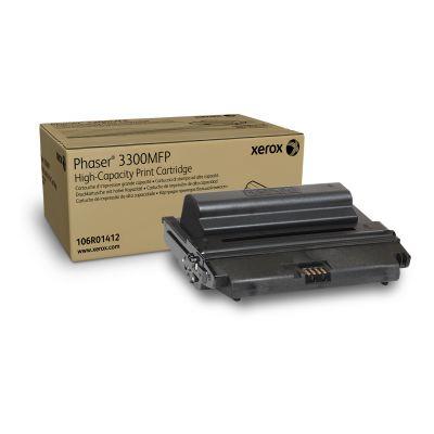 TONER XEROX 106R01412 NEGRO 8000 PAGINAS P/PHASER 3300MFP