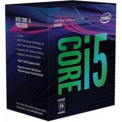 PROCESADOR INTEL CORE i5 8600K 6CORE 3.60GHz 1151 BX80684I58600K