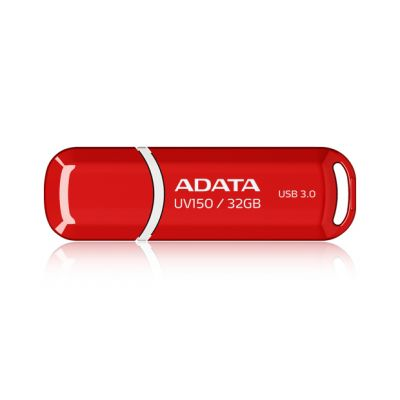 MEMORIA FLASH ADATA UV150 32GB USB 3.0 ROJA (AUV150-32G-RRD)