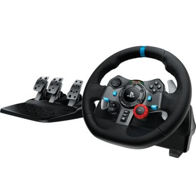 VOLANTE LOGITECH G29 DRIVING FORCE PARA PC Y PS3/PS4 (941-000111)