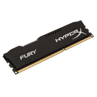 MEMORIA DDR3 KINGSTON HYPERX FURY BLACK 4GB 1600MHZ (HX316C10FB/4)