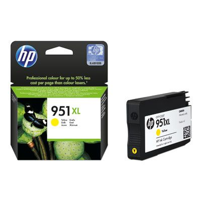 CARTUCHO HP 951XL AMARILLO OFFICEJET PARA 8600/K8600/8600+/8100 (CN048