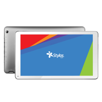 "TABLET ANDROID STYLOS ORUZ QUAD 8GB 1GB 10"" AND 6.0 PLATA"