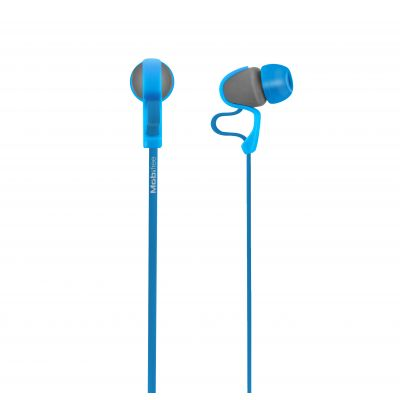 AUDIFONOS ACTECK IN-EAR CON MICROFONO URBAN KAOS AZUL MB-916400