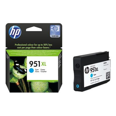 CARTUCHO HP 951XL CYAN OFFICEJET PARA 8600/K8600/8600+/8100 (CN046AL)