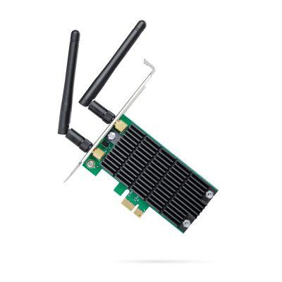 TARJETA DE RED INALAMBRICA TPLINK PCIe AC1200 DUALBAND 2ANT ARCHER T4E