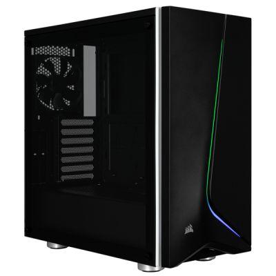 GABINETE CORSAIR SPEC-06 BLACK RGB TG USB 3 ATX S/FTE CC-9011146-WW