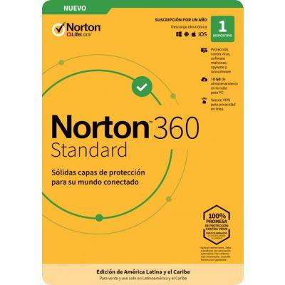 NORTON 360 STANDARD 1DV 1YR (TMNR-032)