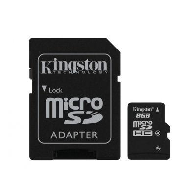 MEMORIA MICRO SD KINGSTON 8 GB (SDC4/8GB)