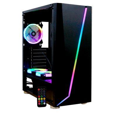 GABINETE YEYIAN YGA-68809 ARMAGEDDON 2200LAT CRIS TEMP,3VENT RGB