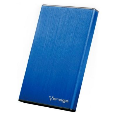 "ENCLOSURE VORAGO HDD-201 2.5"" AZUL"