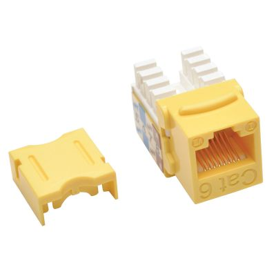JACK CAT6 TRIPP LITE PUNCH DOWN 110 RJ45 AMARILLO N238-001-YW
