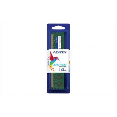 MEMORIA DDR3 ADATA 4 GB 1333Mhz UDIMM (AD3U1333W4G9-S)