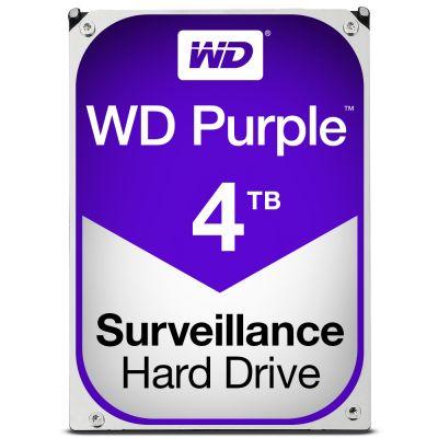 DISCO DURO INTERNO WD 4TB 3.5 WD40PURX 64M SATA3 5400RPM PURPLE