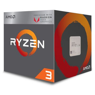 PROCESADOR AMD RYZEN 3 2200G 4CORE VEGA8 3.5GHz 65W AM4 YD2200C5FBBOX
