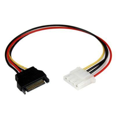 Cable 30cm Molex LP4 a SATA Alimentac Corriente STARTECH LP4SATAFM12