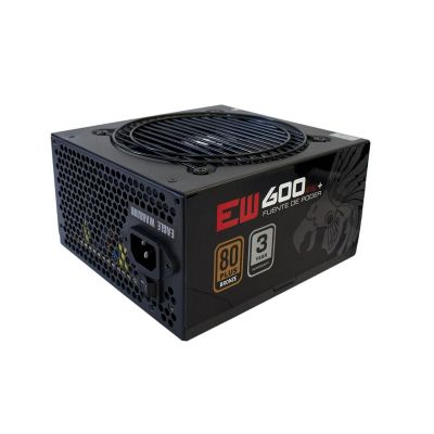 FUENTE DE PODER EAGLE WARRIOR 600W 80 PLUS BRONCE PW600EW001EGW