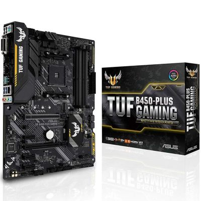 TARJETA MADRE ASUS TUF B450-PLUS GAMING DDR4 ATX SOCKET AM4