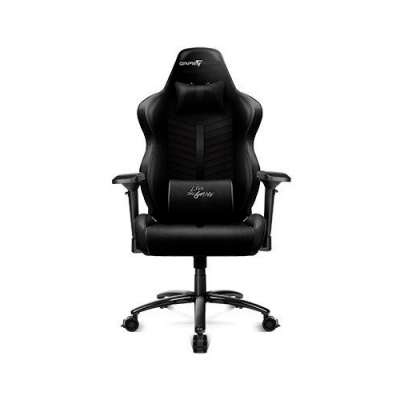 SILLA GAME FACTOR CGC601 XL, PIEL, RECLINABLE, NEGRO