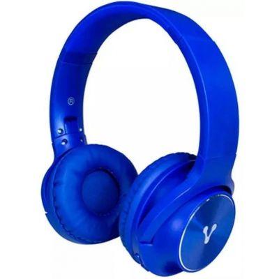 DIADEMA BLUETOOTH VORAGO HPB-200 FM/MSD PLEGABLE AZUL