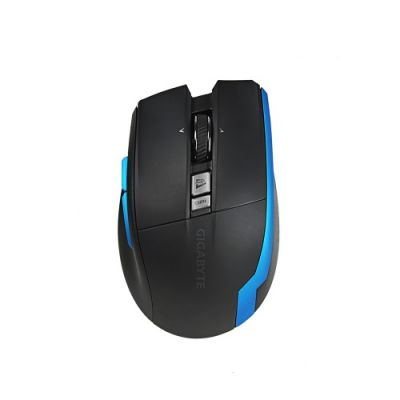 MOUSE INALAMBRICO GIGABYTE GM-AIRE M93 ICE, LASER, RECARGABLE, NEGRO/A