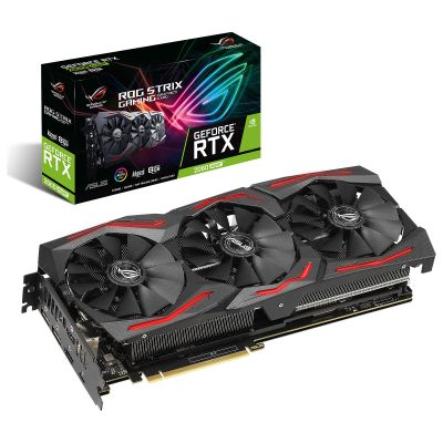 TARJETA DE VIDEO ASUS STRIX NVIDIA 2060 SUPER 8GB ROG-STRIX-RTX2060S-A