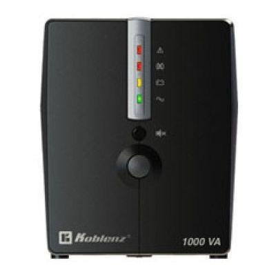 NO BREAK KOBLENZ 10017 USB/R 1000 VA 500 W 1H NEGRO HOGAR/OFICINA