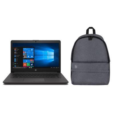 """LAPTOP HP 240 G7 CELERON N4000 4GB 500GB 14"""" W10H 6EH30 """"CON MOCHILA"""""""