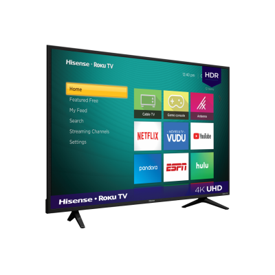 "PANTALLA SMART TV HISENSE 43R6E 43"" ROKU TV 4K (REFURBISHED A)"