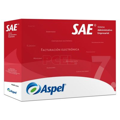 SOFTWARE ADMIN ASPEL SAE 7.0 1 USUARIO ADICIONAL (SAEL1K)
