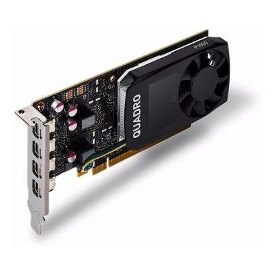 TARJETA DE VIDEO PNY VCQP1000-ESPPB QUADRO NVIDIA P1000 4GB GDDR5 CUDA