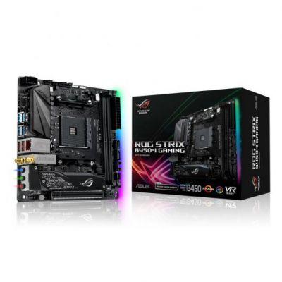 TARJETA MADRE ASUS ROG STRIX B450-I GAMING AM4 DDR4 3600MHz,HDMI AURA