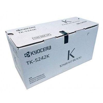 TONER KYOCERA TK-5242K 4000 PAGINAS NEGRO ECOSYS P5026CDW